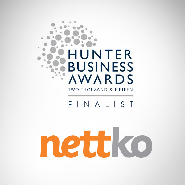 Nettko - Hunter Business Award Finalist 2015