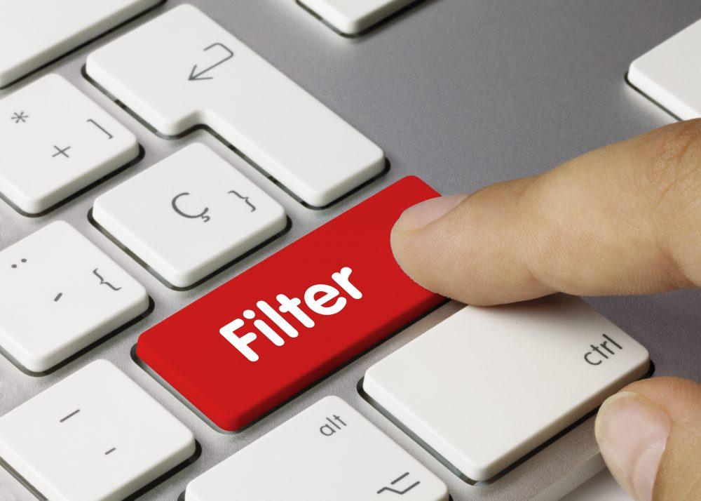 Filter Keyboard